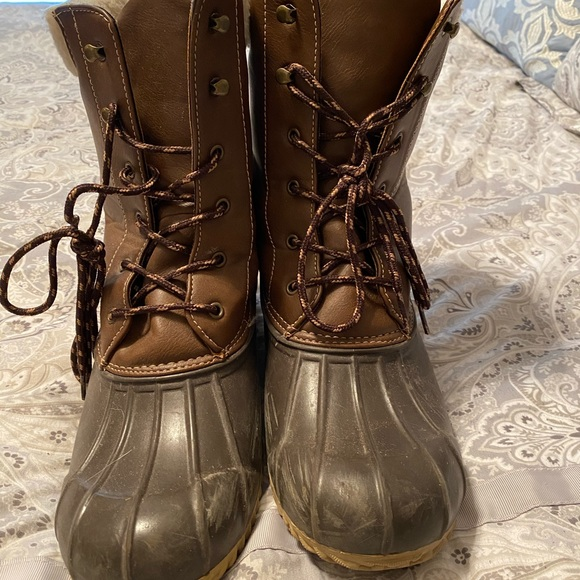 London Fog Shoes   Womens Duck Boots